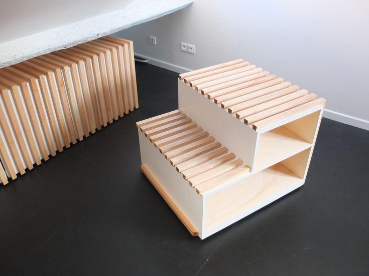 rangements sous pente maison pinterest. Black Bedroom Furniture Sets. Home Design Ideas