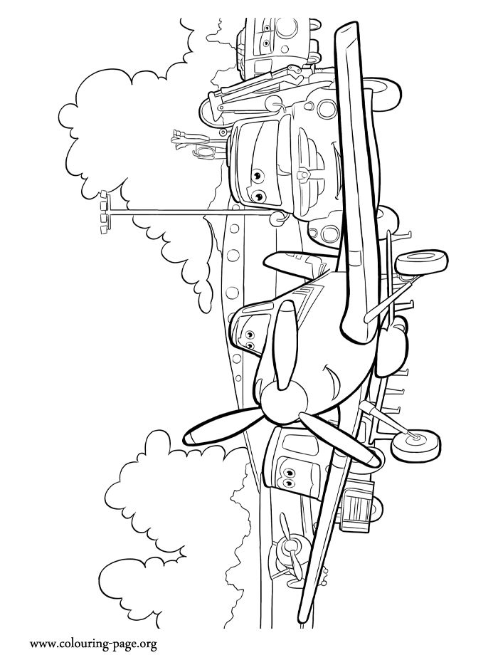 Disney planes rochelle coloring pages