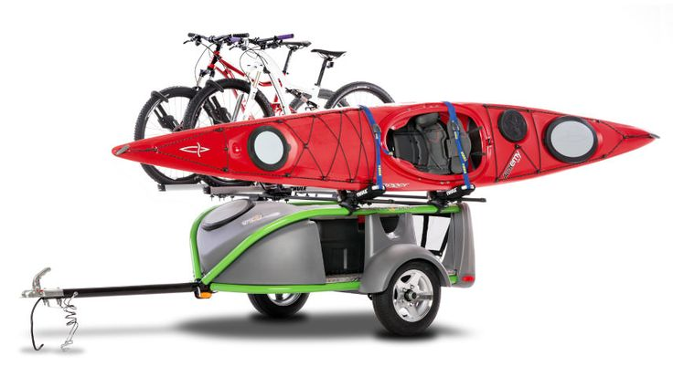The SylvanSport Go Easy Trailer Is So Ultralight It Can Be Towed Behind a Car or Even a Motorcycle | Covet | OutsideOnline.com