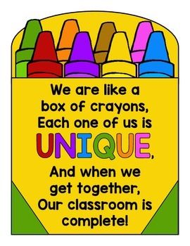 Preschool Quotes Gorgeous Best 25 Crayon Box Ideas On Pinterest  Door Bulletin Boards