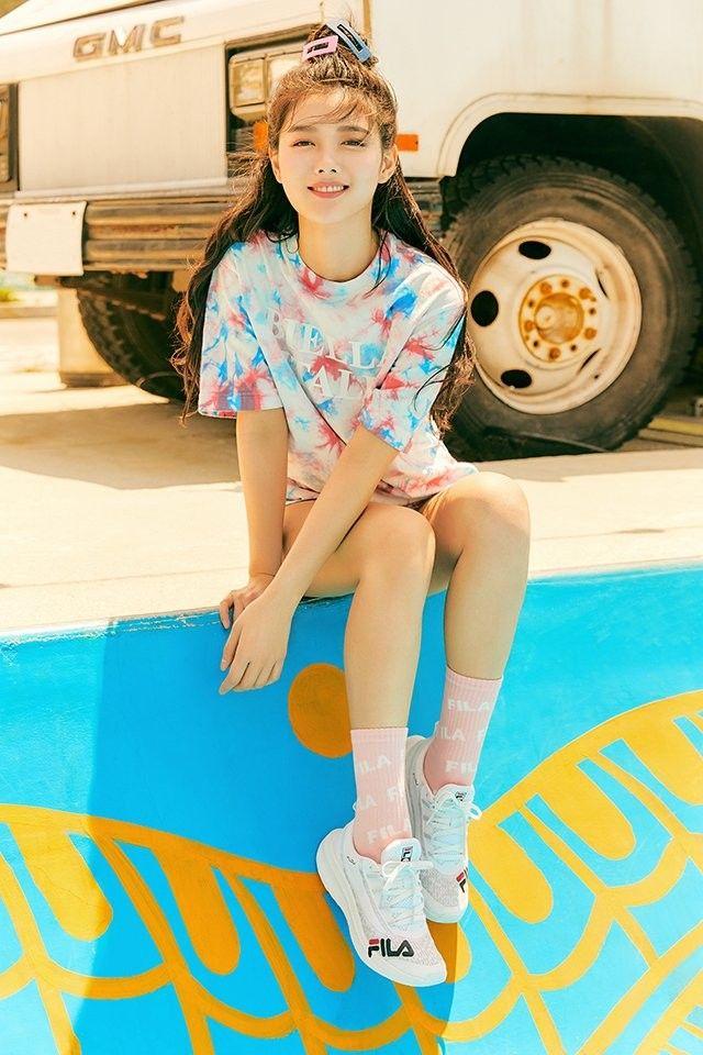 2020 05 김유정 휠라 여름 화보 네이버 블로그 2020 얼굴 사진 한국 패션 패션