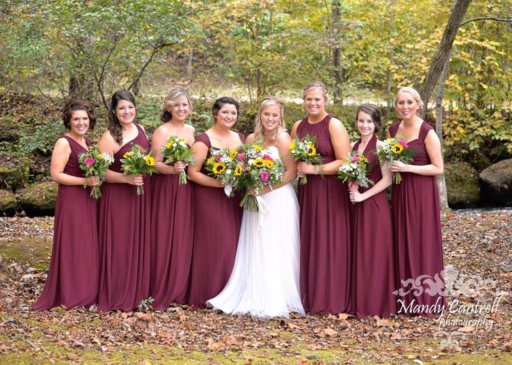 17 best ideas about Wine Bridesmaid Dresses on Pinterest | Maroon ...