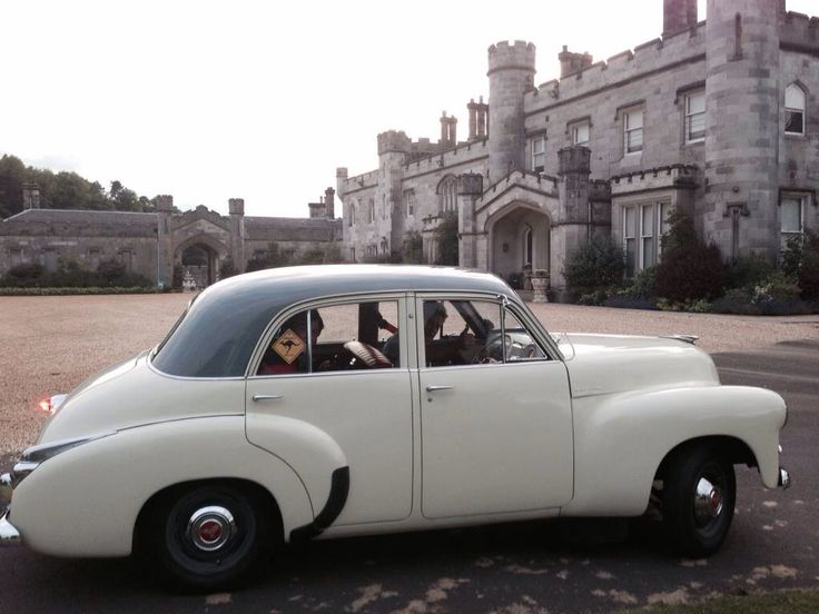 Taking the car for a spin at Dundas Castle