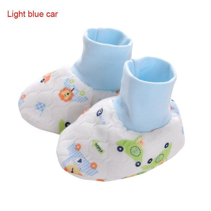 Hot Sale Cute Cartoon Infant Baby Kids Foot Gloves Newborn Foot Socks Free Shipping