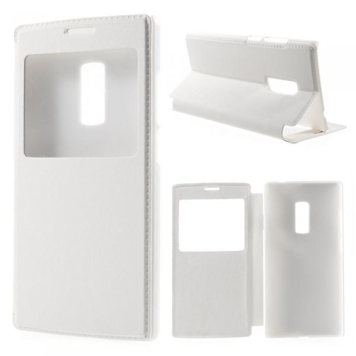Vitt fodral till OnePlus 2. Köp snygga fodral idag via länken: http://www.phonelife.se/mobilfodral