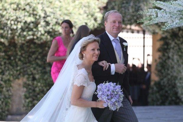 Nozze reali: a Firenze il sì della nipote di Beatrice d'Olanda