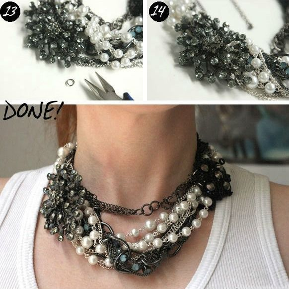 Yli tuhat ideaa do it yourself necklace pinterestiss do it unbelievable chain necklace want to do it yourself click on the image for solutioingenieria Images