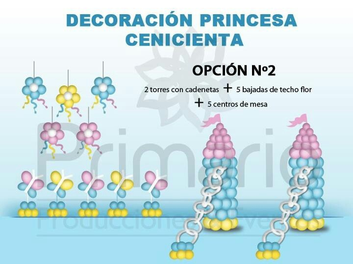 Deco cenicienta.