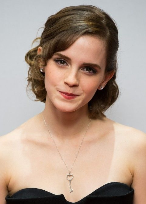 Emma Watson Formal Medium Haircuts