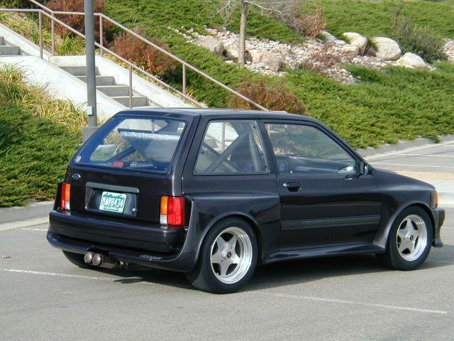 1989 Ford Festiva Shogun V6