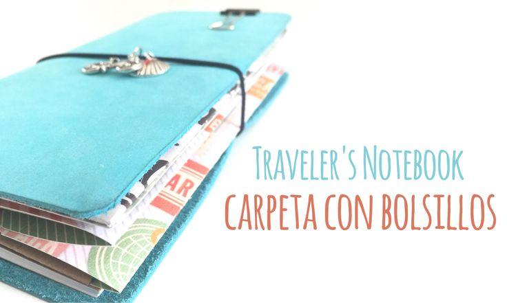 En el vídeo de hoy os traigo un tutorial para crear una carpeta con bolsillos para vuestro Traveler's Notebook. Las medidas que utilizo son de mi Traveler's ...