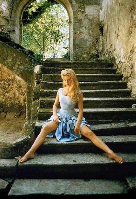 Brigitte Bardot by Mark Shaw.
