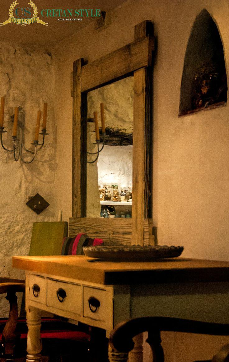 Inside a house on Crete...