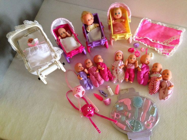 629 besten barbie baby and different little babys bilder. Black Bedroom Furniture Sets. Home Design Ideas