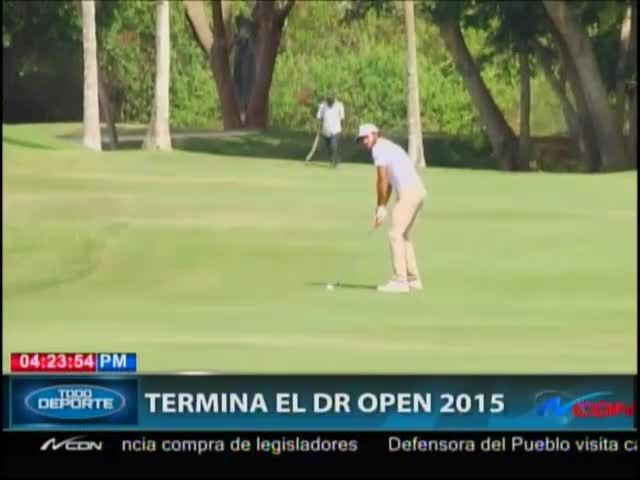 Termina El Torneo De Golf 'Dominican Republic Open 2015′ #Video