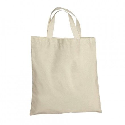 SAC SHOPPING ANSES COURTES 'MINI MARIETA' 100 GR/M² - naturel