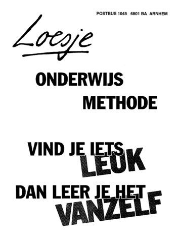 Www.metselaarenglas.nl 'Plezier in Leren en Leren in Plezier'