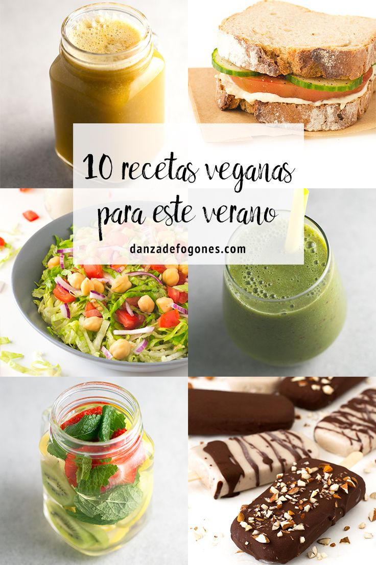 10 Recetas Veganas Para Este Verano