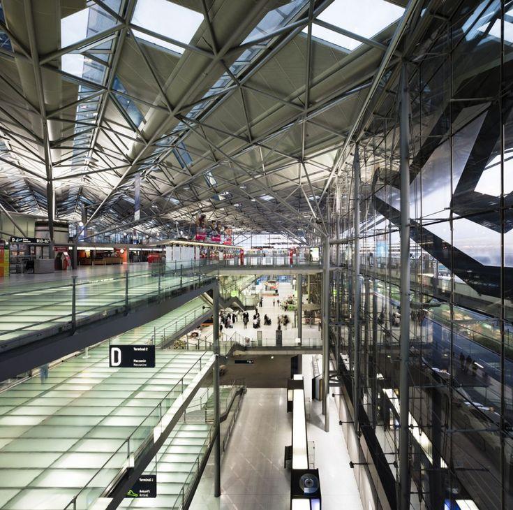 Cologne Bonn Airport / Murphy Jahn (I like the idea of ground lighting
