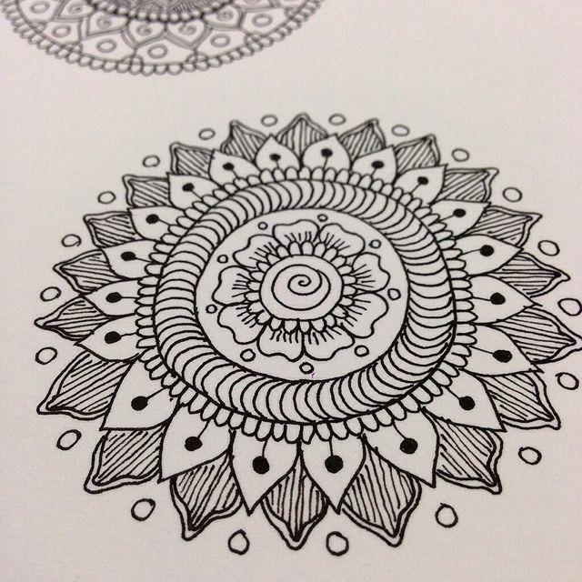 Ink Mandala by MagaMerlina, via Flickr