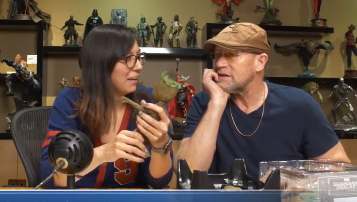 Watch: Michael Rooker Unboxes Sideshow's Baby Groot Figure