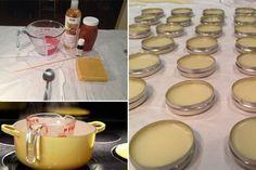 Fabriquer des baumes à lèvres - Produits de la ruche