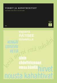 Ilona Herlin ja Lari Kotilainen (toim.): Verbit ja konstruktiot (2012)