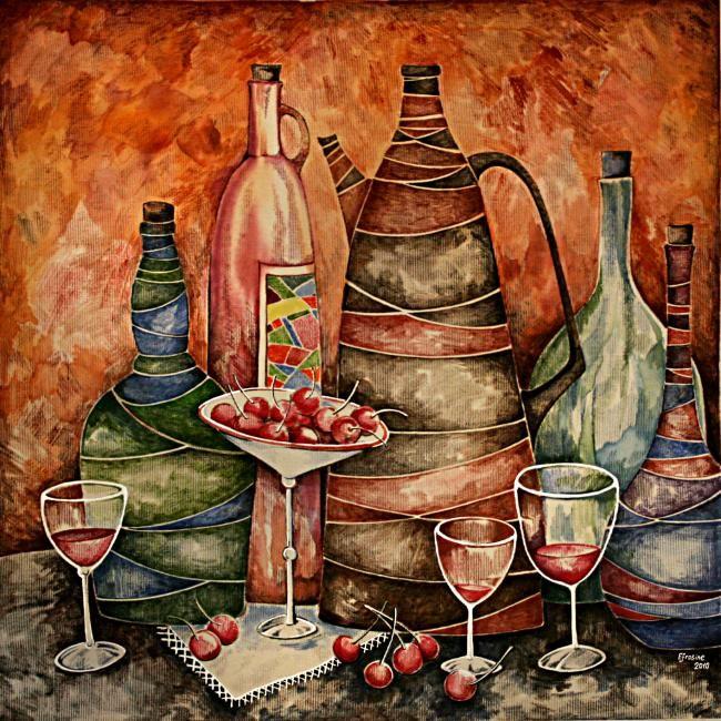 Каминская Мария. Красное вино