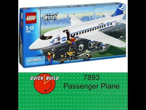 Just posted! LEGO City 7893 Passenger Plane - Quick Build and Review  https://youtube.com/watch?v=3XbmqiEBAnA