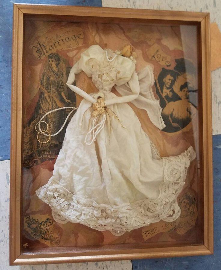 Vintage LORELLA VICTORIAN COLLECTION Wedding Dress Shadow