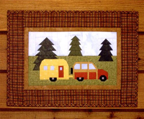 Travel Trailer Pattern