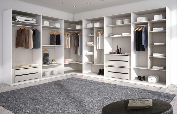 Un amplio #armario, adaptado a tus necesidades de espacio. ¿Ves como podemos dar forma a todo lo que necesitas? Tu respuesta es simple: acércate a tu tienda #Merkamueble