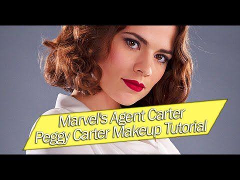 Kiss & Makeup: Peggy Carter (Marvel's Agent Carter) Tutorial - Your Friend Elle