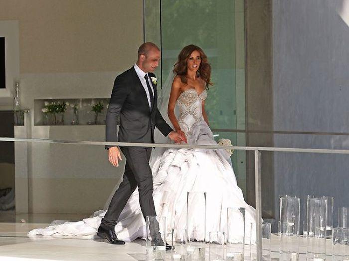 RICH GIRLS.: Mr and Mrs Judd's Fairytale Wedding.
