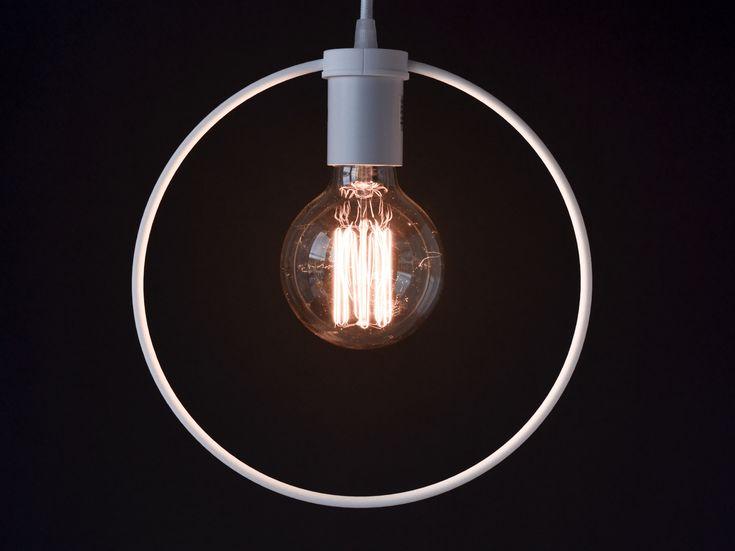 Circle Pendant Light designed by modern lighting studio DeVignCo.