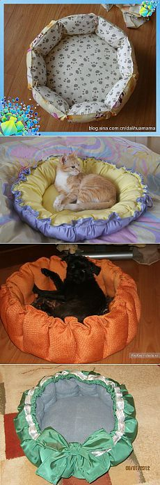 Лежанки для котов своими руками Выкройки Питомник » Зивакина.ру - мастер-классы по рукоделию для всех.