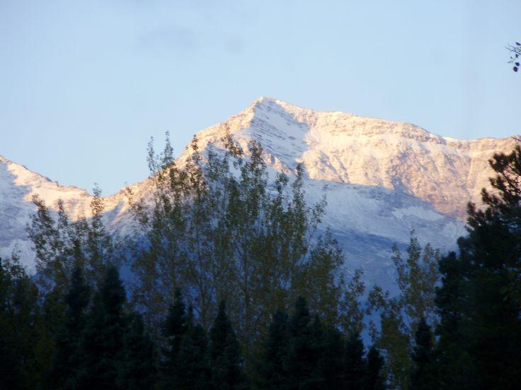 Morning light on Mica Mountain
