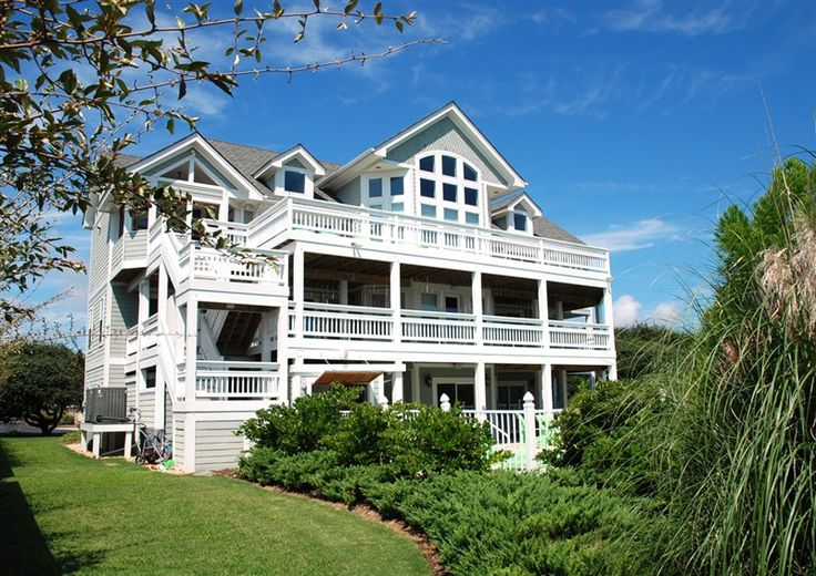 Twiddy Outer Banks Vacation Home - Blue Marlin - Corolla - Oceanside - 8 Bedrooms