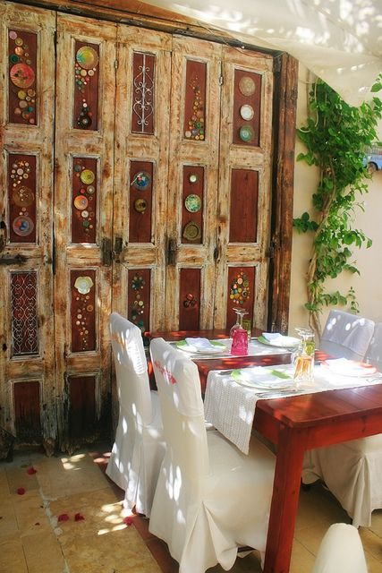 Avli Restaurant in Rethymno, Crete #Greece