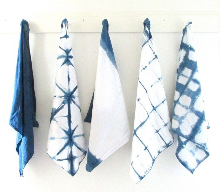 DIY: Кухонные полотенца с рисунком