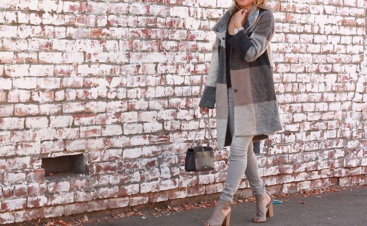 marshalls plaid coat