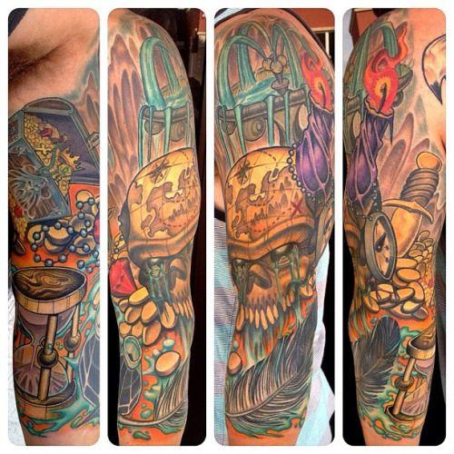 37 Best Treasure Tattoo Images On Pinterest