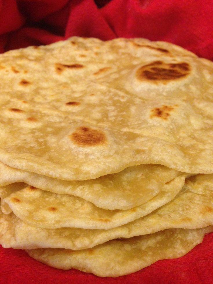 Easy Homemade Tortillas - No Lard