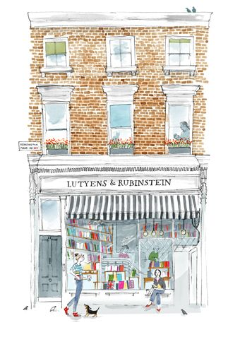 Alice Tait - Notting Hill Book Shop