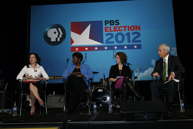 PBS Election Panel by PBS PressRoom, via Flickr #PBSam