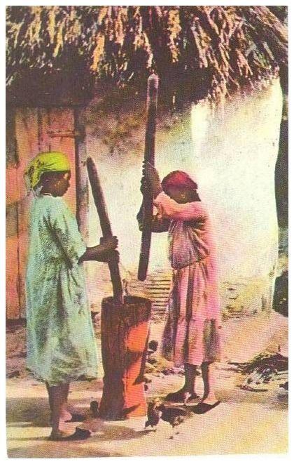 Haitian Farmers, Haiti c.1960