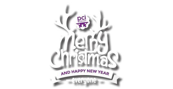 PCI Groep wenst u een prettige kerst en een gelukkig 2015