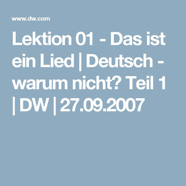 7 best Learn german images on Pinterest | Learn german, Language and ...