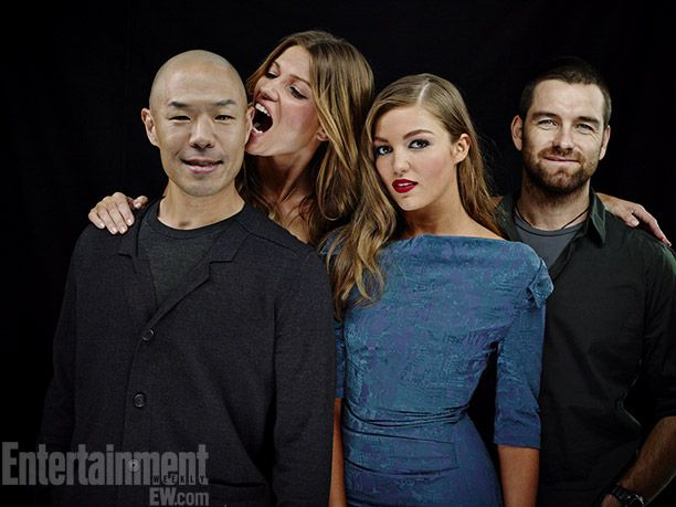 SDCC 2013 - Hoon Lee, Ivana Milicevic, Lili Simmons, and Anthony Starr - Banshee