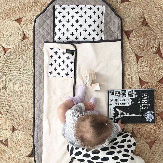 Gorgeous Marlowe chilling on the Monochrome Daycare Swaggie!! 💕💕 I've been very lucky to have her talented mama @luxebabylove in my corner since I started this little business, regularly giving me guidance & sending through stunning little pics like this! Now other little businesses can access this talented mamas magic as Frankie has just launched a product styling service 🙌🏻 So if you have a great product but photography and styling isn't your strong point then get in touch with Frankie…